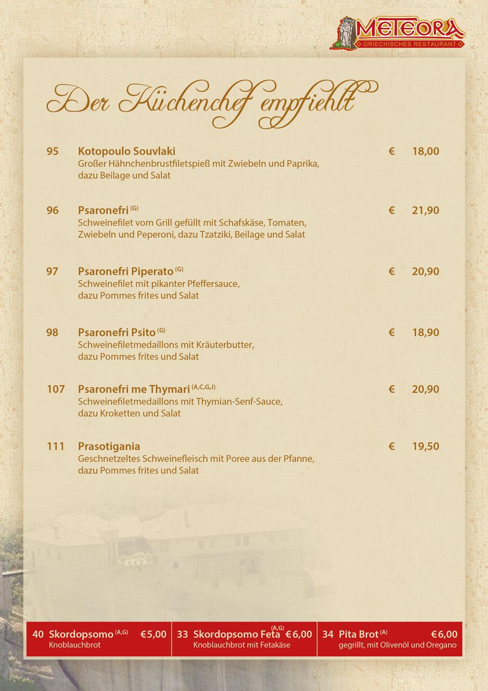 ständige vertretung berlin restaurant speisekarte
